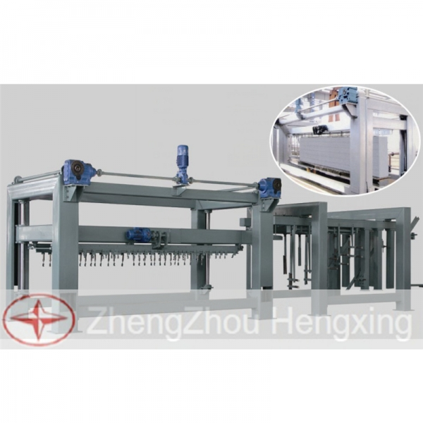 Air Turn Movable Step AAC Block Cutting Machine